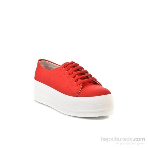 Bambi Kadın Sneakers Kırmızı