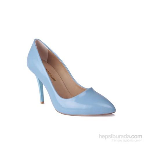 Loggalin Kadın Topuklu Ayakkabı Açık Mavi