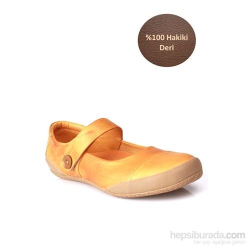 Loggalin Kadın Günlük Ayakkabı Sarı