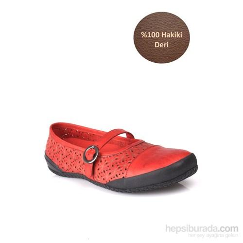 Loggalin Kadın Günlük Ayakkabı Kırmızı