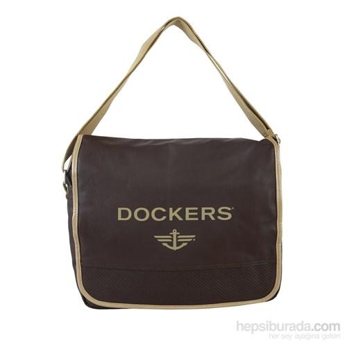 Docker's Erkek Postacı Çantası Kahve 9M104.33