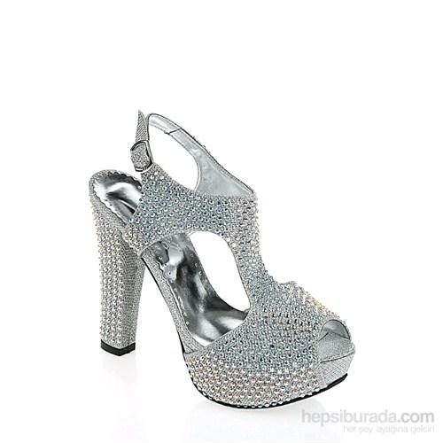 Derigo Kadın Topuklu Ayakkabı Lame