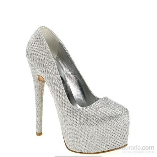 Derigo Kadın Topuklu Ayakkabı Lame Sim