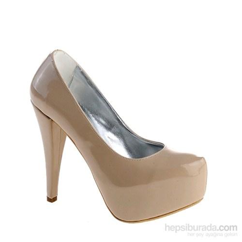 Derigo Kadın Topuklu Ayakkabı Ten Cilt