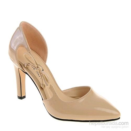 Derigo Kadın Topuklu Ayakkabı Ten
