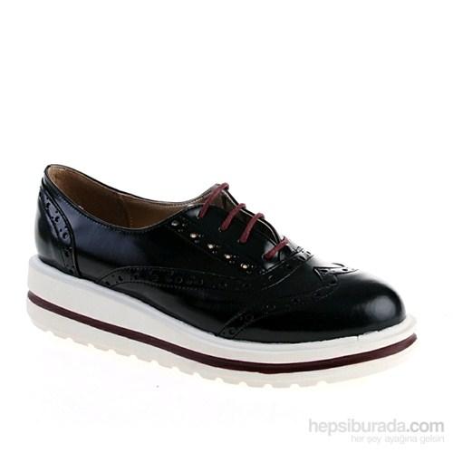 Derigo Kadın Günlük Ayakkabı Siyah Beyaz