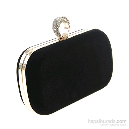 Derigo Kadın Portföy Çanta Siyah