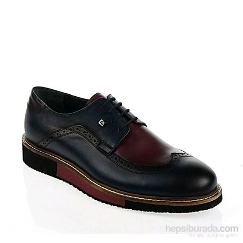 Derigo Erkek Günlük Ayakkabı Bordo Lacivert
