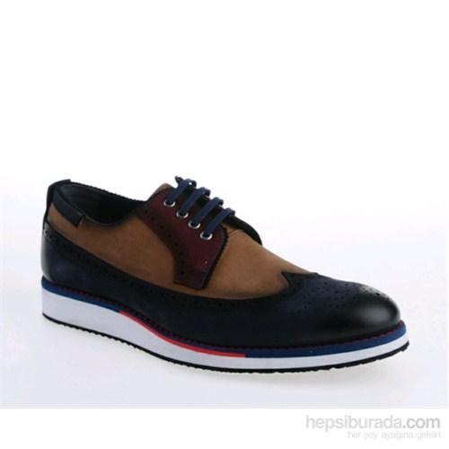 Derigo Erkek Klasik Ayakkabı Mavi