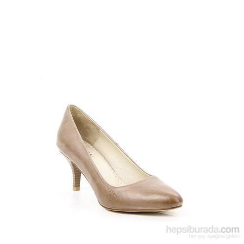 Gön Vizon Antik Deri Kadın Ayakkabı 22046