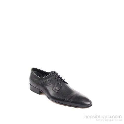 Gön 32463 Siyah Deri Erkek Ayakkabı