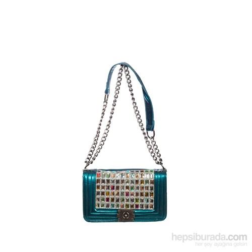 Gnc Bag Kadın Çanta Buz Mavisi Gnc6022-0050