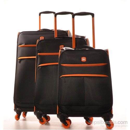 benetton siyah 3 39 l valiz seti renkli tekerlekli fiyat