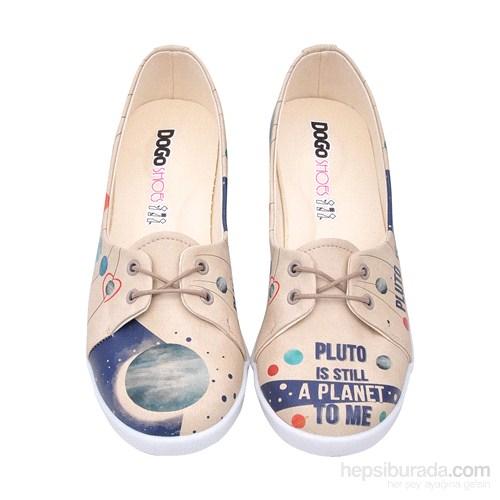 Dogo Shoes Pluto Is Still A Planet To Me Kadın Düz Ayakkabı