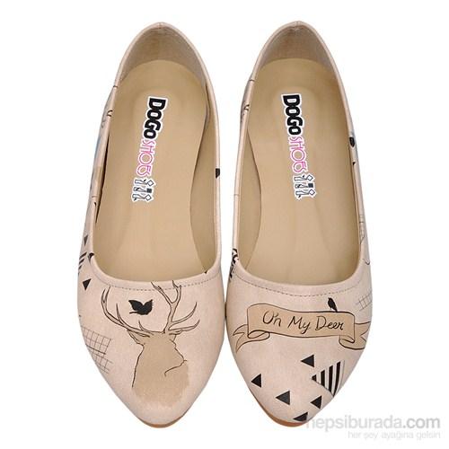 Dogo Shoes Ohh My Deer! Kadın Düz Ayakkabı