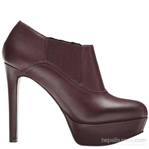Nine West Nwdisclosure Bordo Deri Ayakkabı