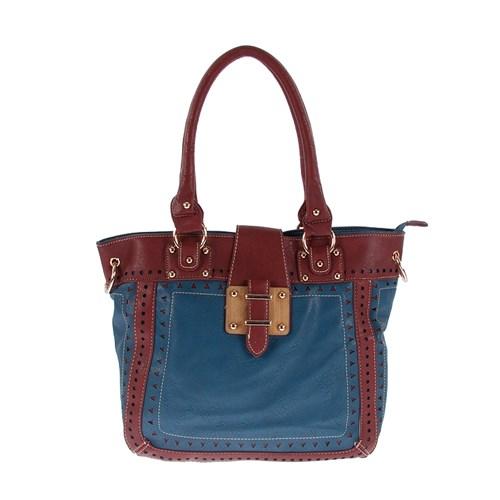 Luısıdo Kc7556 Red-Blue Bayan Çanta