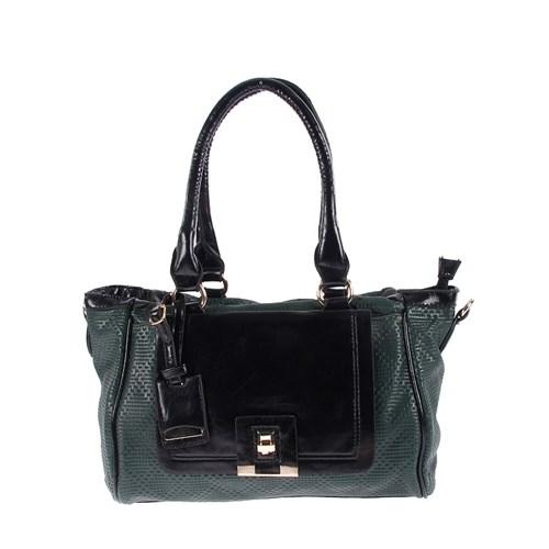 Luısıdo Kc8055 Green-Black Bayan Çanta