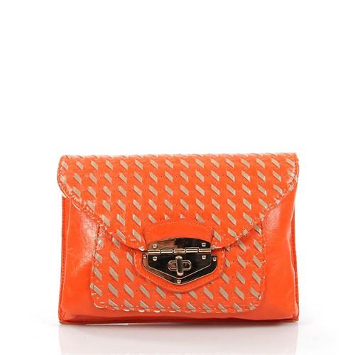 Luısıdo Py2134 Orange Çapraz Bayan Çanta