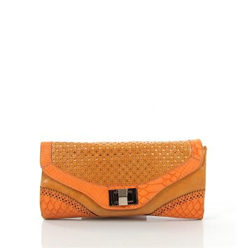 Luısıdo Py4632 Orange Çapraz Bayan Çanta