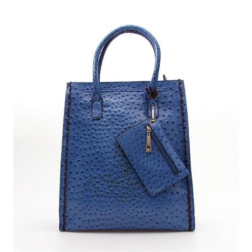 Jacqulıne 1112-21 Mavi Bayan Çanta
