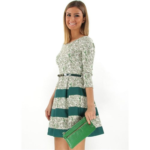 Jacqulıne 122-2 Yeşil Çapraz Bayan Çanta