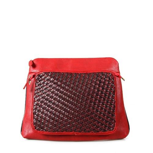 Jacqulıne 135-45 Kırmızı Çapraz Bayan Çanta