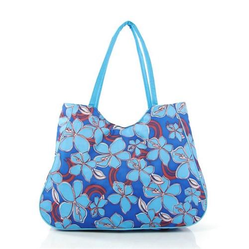 Plaj Bags 2140 Mavi Plaj Çantası