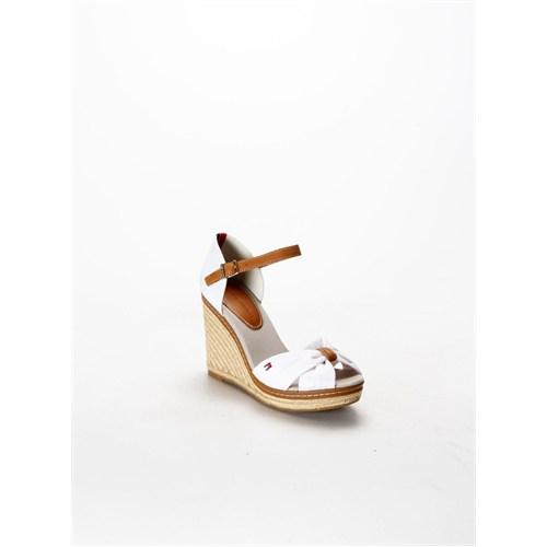 Tommy Hilfiger Emery Dolgu Topuklu Kadın Sandalet Fw56818540.73F