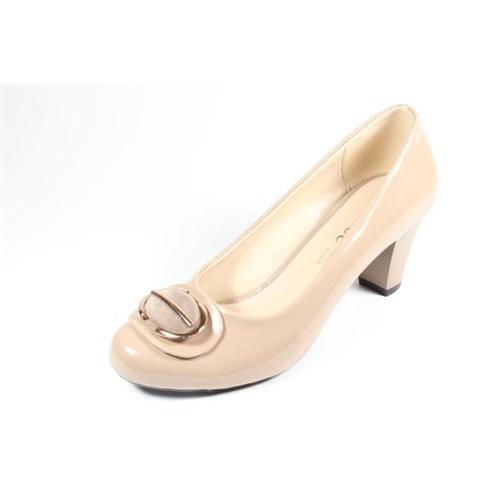Capriss St11-11-464 Vizon Rugan Topuklu Ayakkabı