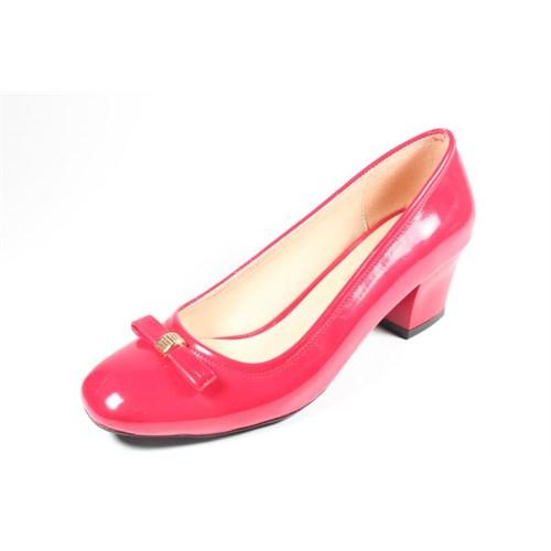 Capriss St11-11-467 Kırmızı Rugan Topuklu Ayakkabı