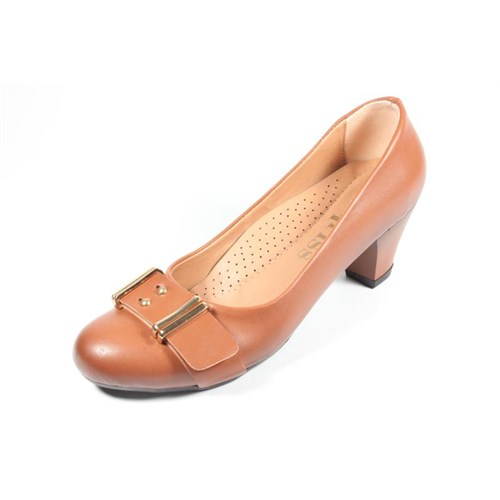 Capriss St11-11-481 Taba Topuklu Ayakkabı