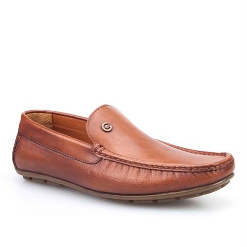 Cabani Makosen Günlük Erkek Ayakkabı Taba Sanetta Deri