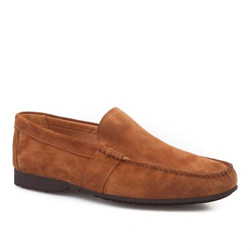 Cabani Bağcıksız Günlük Erkek Ayakkabı Taba Süet