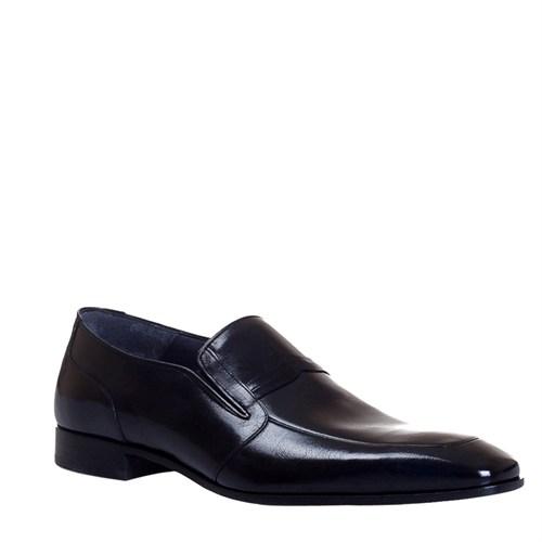 Cabani Kemerli Klasik Erkek Ayakkabı Siyah Malak Deri