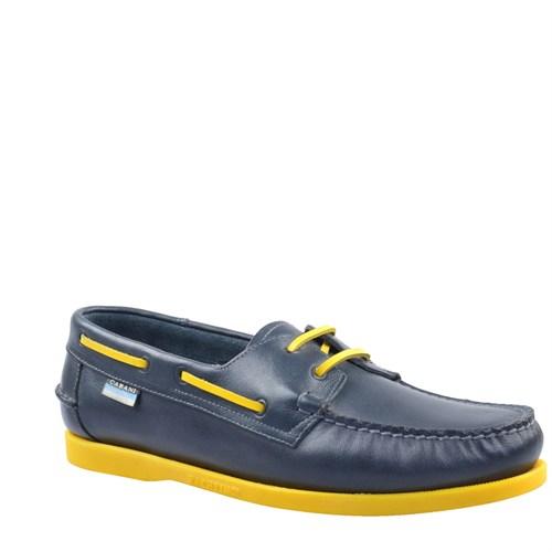Cabani Marin Tekne Günlük Erkek Ayakkabı Lacivert Soft Deri