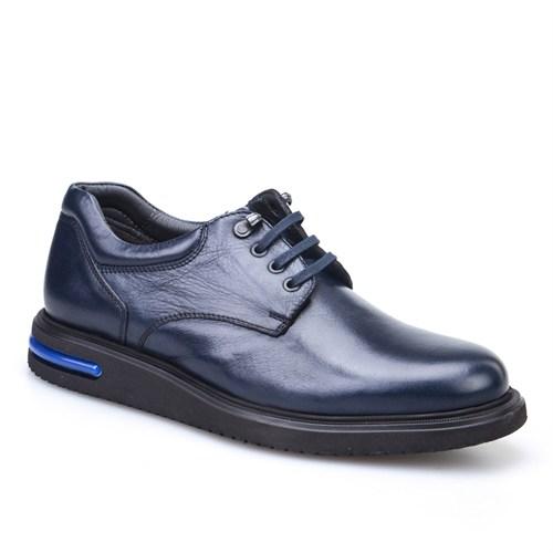 Cabani Oxford Günlük Erkek Ayakkabı Lacivert Napa Deri
