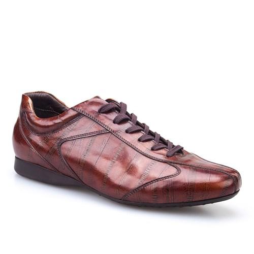 Cabani Bağcıklı Günlük Erkek Ayakkabı Fındık Açma