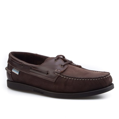 Cabani Marin Tekne Günlük Erkek Ayakkabı Taba Nubuk