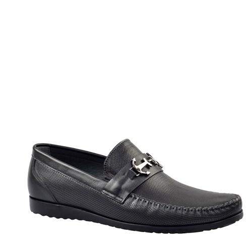 Cabani Driver Günlük Erkek Ayakkabı Siyah Soft Deri