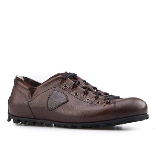 Cabani Özel Tasarım Günlük Erkek Ayakkabı Taba Deri