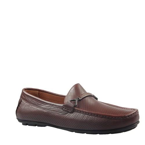 Cabani Kemerli Günlük Erkek Ayakkabı Kahve Napa