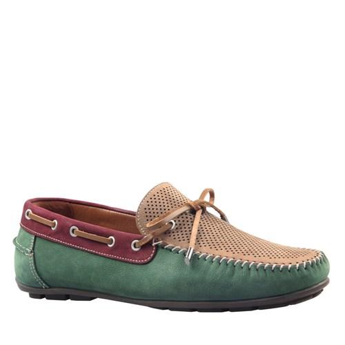 Cabani Makosen Günlük Erkek Ayakkabı Bej Nubuk