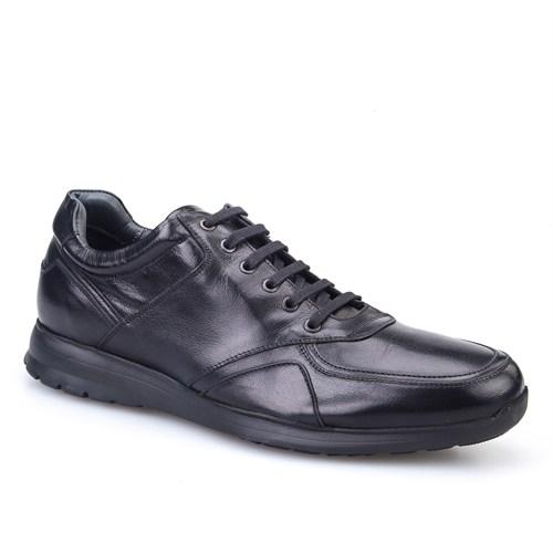 Cabani Extralight Günlük Erkek Ayakkabı Siyah Buffalo Deri