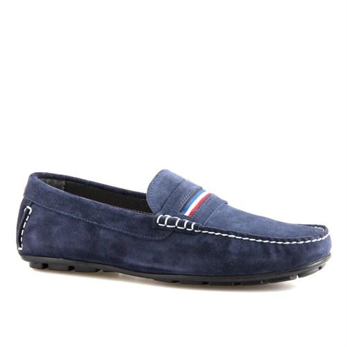 Cabani Makosen Günlük Erkek Ayakkabı Lacivert Süet