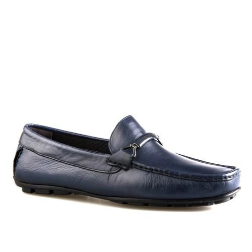 Cabani Makosen Günlük Erkek Ayakkabı Lacivert Napa Deri