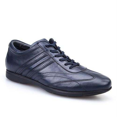 Cabani Extra Light Günlük Erkek Ayakkabı Lacivert Picasso Deri