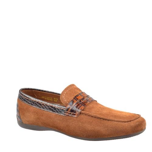 Cabani Kemerli Günlük Erkek Ayakkabı Taba Süet