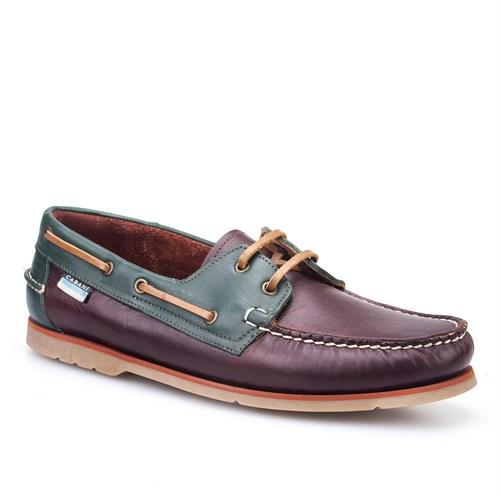 Cabani Marin Tekne Günlük Erkek Ayakkabı Bej Süet