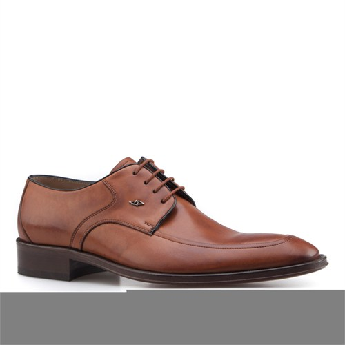 Nevzat Onay Bağcıklı Klasik Erkek Ayakkabı Taba Antik Deri